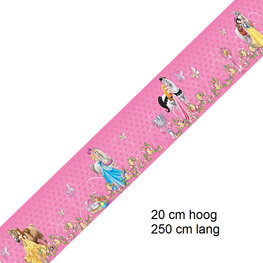 Disney Princess behangrand 20 cm hoog
