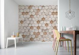 Woodcomb Nude fotobehang