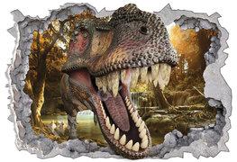 Dino T-Rex poster 3D-effect