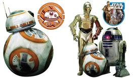 Star Wars muurstickers Droids L