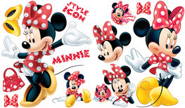 Minnie Mouse muurstickers L