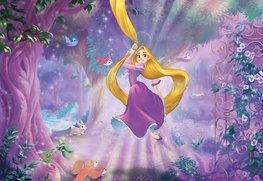 Rapunzel fotobehang XL Lila