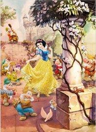 Dancing Snow White fotobehang L1