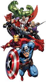 Avengers muursticker XXL