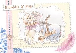 Winnie the Pooh fotobehang Friendship