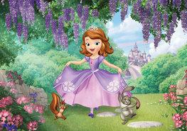 Sofia het prinsesje fotobehang XXXL
