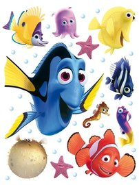Finding Nemo muurstickers XL