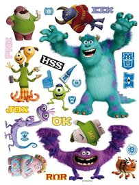 Monsters University muurstickers XL