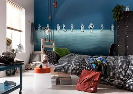 Star Wars fotobehang Scarif Beach