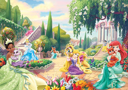 Disney Princess vlies fotobehang Tuin