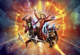 Guardians of the Galaxy fotobehang XL