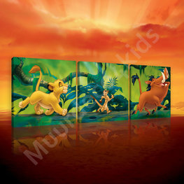 Lion King canvas set Hakuna Matata