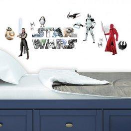 Stars Wars muurstickers Last Jedi