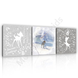Bambi canvas set NW