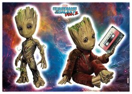 Groot muurstickers Guardians of the Galaxy 2