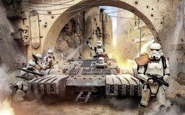 Star Wars Tanktrooper fotobehang