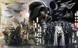 Star Wars Collage fotobehang