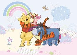 Winnie the Pooh fotobehang Best Friends