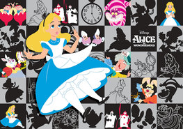 Alice in Wonderland fotobehang