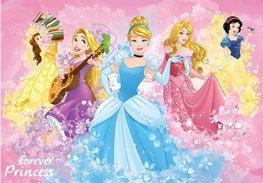 Disney Princess fotobehang Forever L