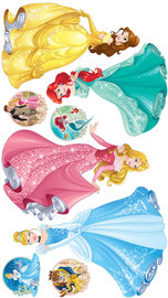 Disney Princess muurstickers XXL