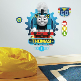 Thomas de Trein muursticker XL