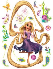 Rapunzel muursticker XL