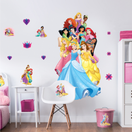 Disney Princess muursticker XXL