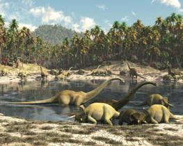 Dinosaurus vliesbehang Dino Park XL