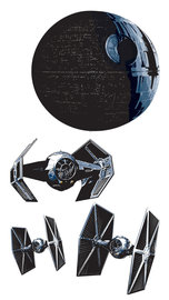 Star Wars Death Star muurstickers XXL
