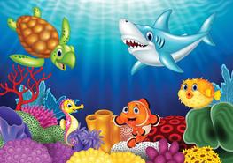Fotobehang Dieren in de zee