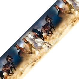 Paarden behangrand