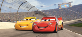 Cars 3 poster behang H