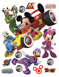 Mickey Mouse muurstickers XL Roadster
