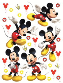 Mickey Mouse muurstickers XL