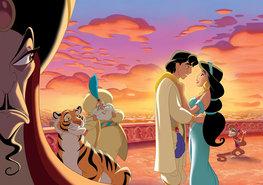 Aladdin en de wonderlamp fotobehang