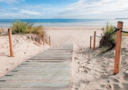 Strand fotobehang XL - Vlies