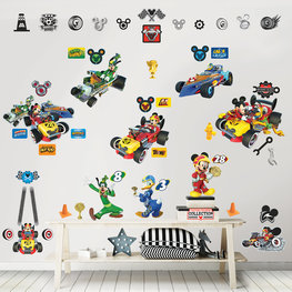 Mickey Mouse stickers Roadster Racers - WT