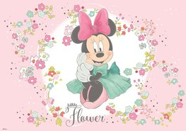 Minnie Mouse fotobehang Little Flower L