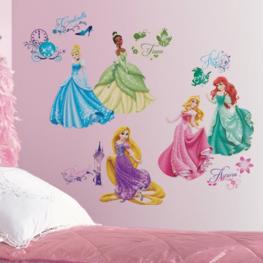 Disney Princess muurstickers Royal Debut