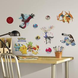 Pokémon muurstickers XY
