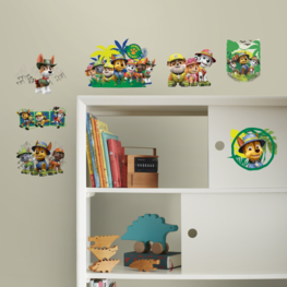 Paw Patrol muurstickers Jungle