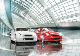 Fotobehang Sportauto's