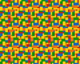 Lego vliesbehang