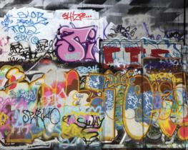 Graffiti Wall vliesbehang