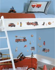 Brandweer muurstickers