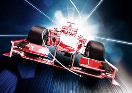 Formule 1 Raceauto fotobehang