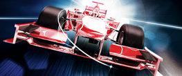 Formule 1 Raceauto poster behang