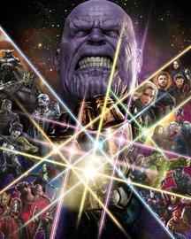 Avengers Infinity War fotobehang Power