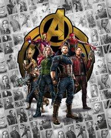 Avengers Infinity War fotobehang L1